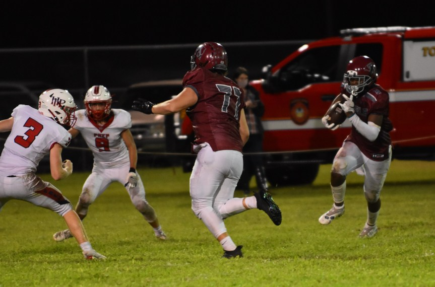 HSFB: Rebels roll past HHP for third straight win