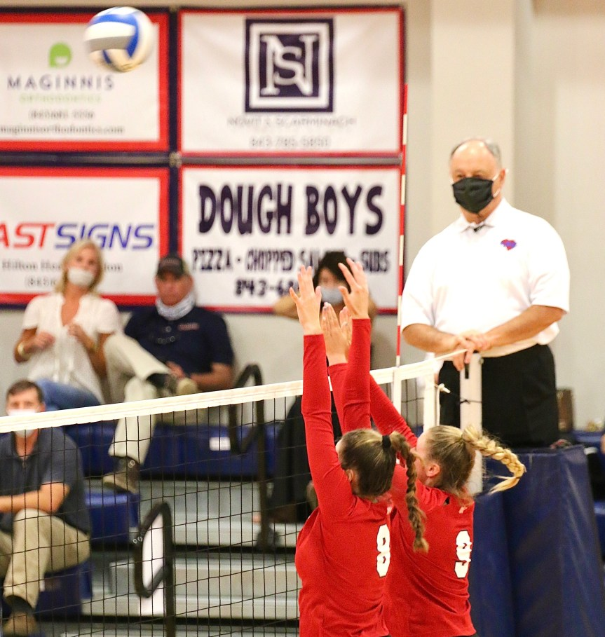 HSVB: Dolphins stay perfect with hard-earned sweep of BA