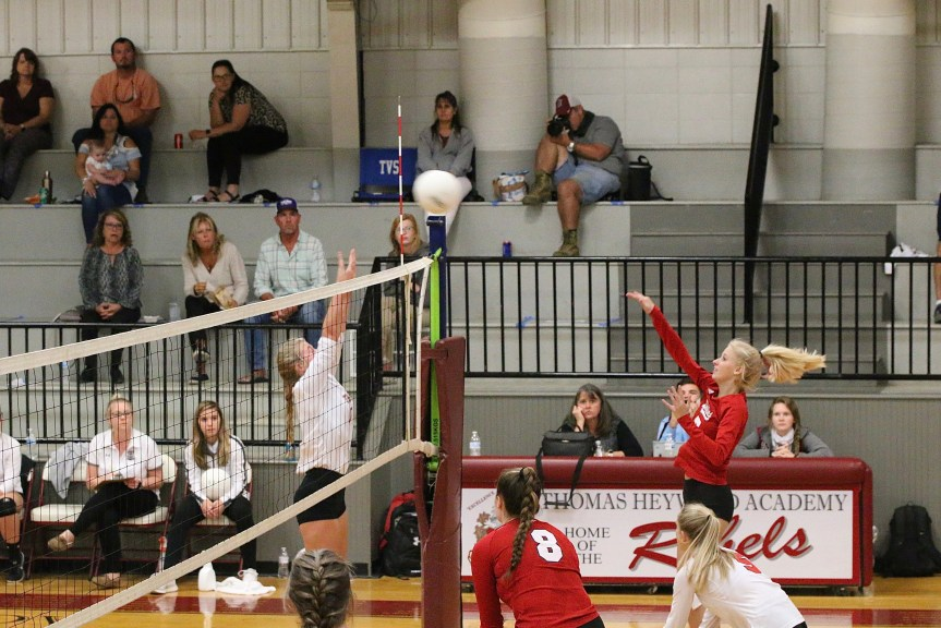 HSVB: Dolphins still perfect after sweep of THA