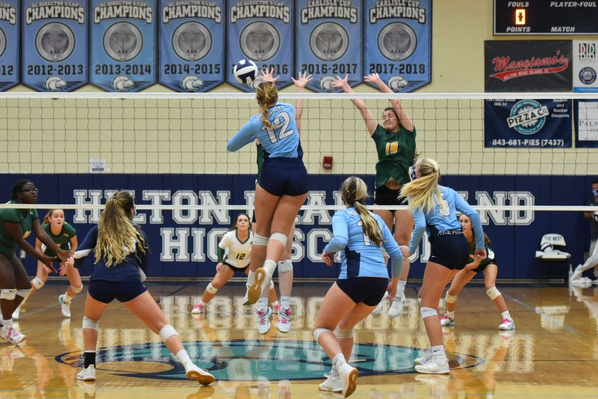 HSVB: Seahawks soar into second round with sweep