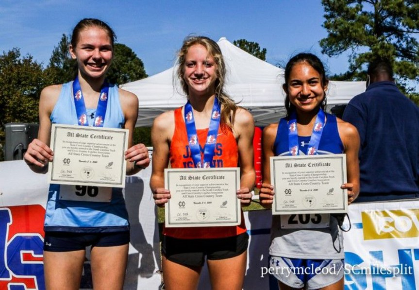 HSXC: Seahawk girls fall one point short of state title, MR's Arroyo 2nd