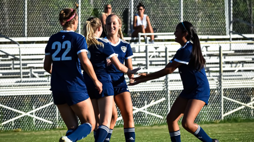 HS GSOC: HHCA hammers Griffins to join boys in state title quest
