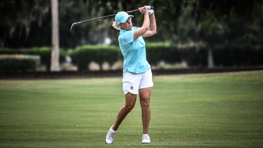 GOLF: Johnston-Forbes hangs on for Legends Tour win at Moss Creek