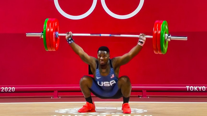 WEIGHTLIFTING: Beaufort's CJ Cummings falls short of podium in first Olympics