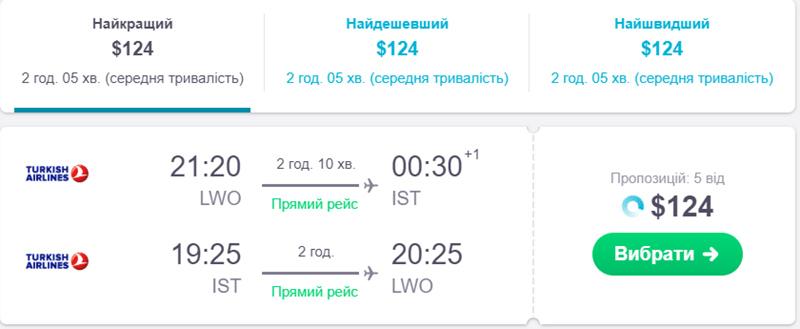 Квитки Львів - Стамбул - Львів на сайті Skyscanner