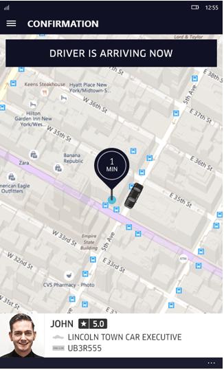 Uber - треккінг Вашого авто
