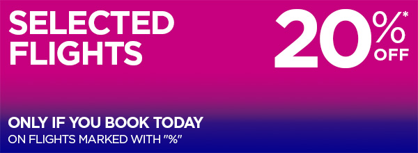 Wizz Air selected routes sale