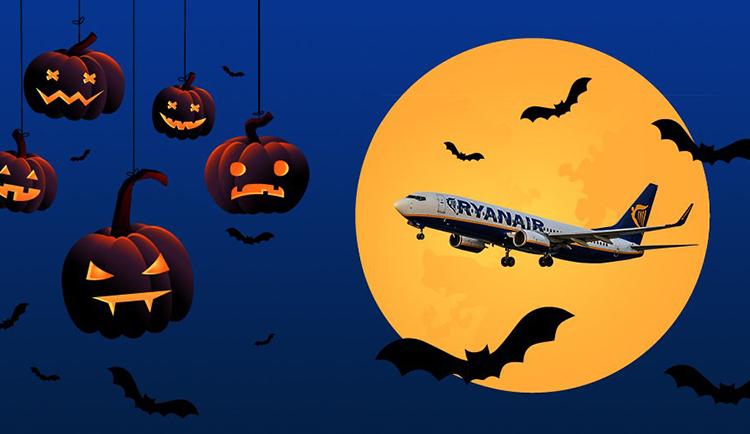 Авіаквитки від 9€ - у Ryanair розпродаж з нагоди Хелловіну!    Lowcost UA f162219b79809