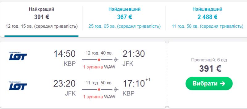 Київ - Нью-Йорк - Київ