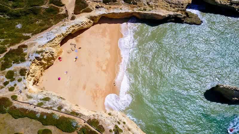 Фару, пляж