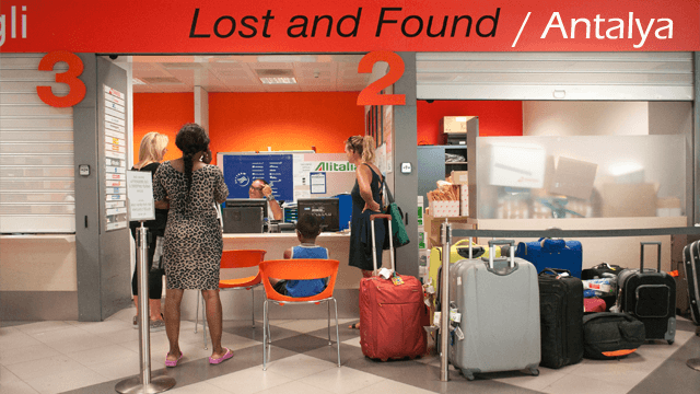 lost and found antalya