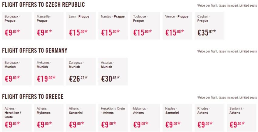 Авіаквитки в Чехію, Німеччину та Грецію