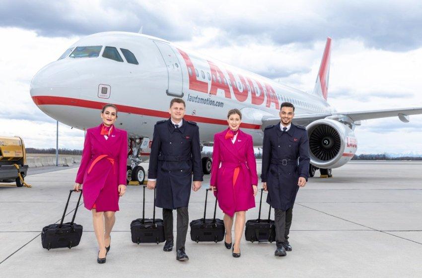 airline steward uniform lauda