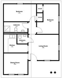 Floor plans low cost houses - Home design and style
