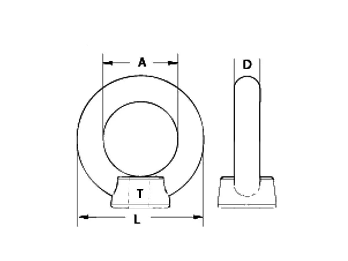 hight resolution of eye nuts are designed to provide a method for anchoring chain and wire rope to a fixed surface by threading the eye nut onto a rod or bolt
