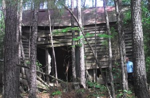 Laurelwood Plantation Slave Cabin Before