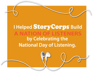 National Day of Listening Flyer