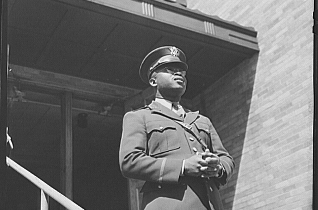 Chaplain George W. Williams from Sumter, South Carolina, April 1942