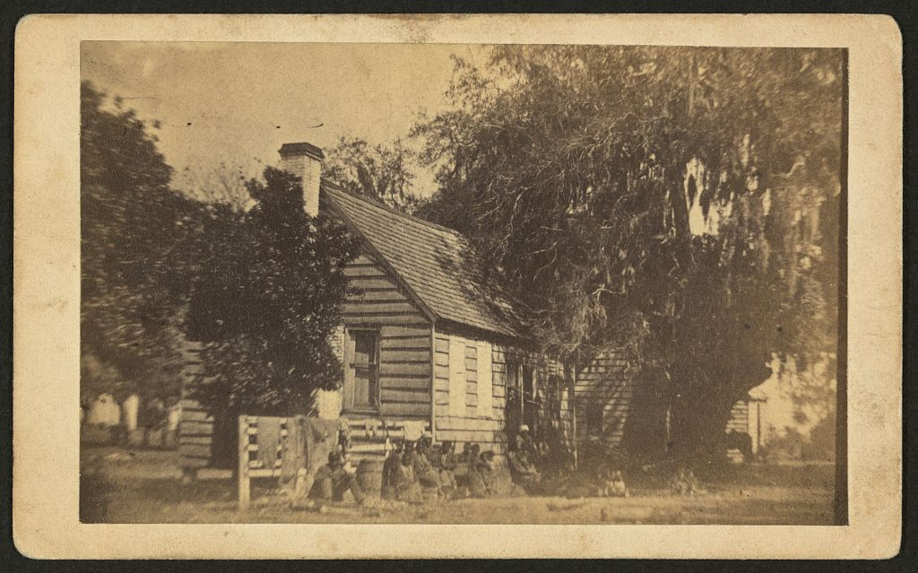 Nursery at Elliott's Plantation, Hilton Head, S.C., ca. 1862-1863