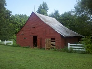 Barn Where Slave Dwelling Is Housed