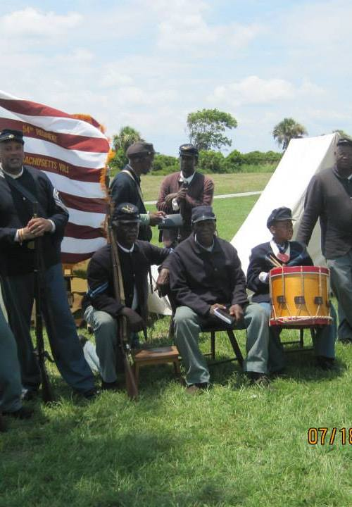 54th Mass Company I Fort Moultrie