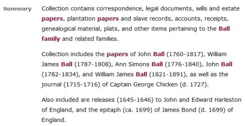 Ball-Family-Papers-Catalog-Summary