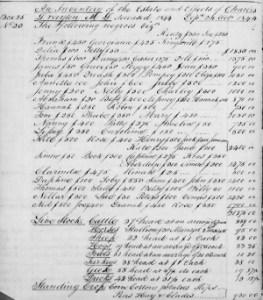 DraytonCharlesJrEstateInventory1844BookA(1839-1844)P582