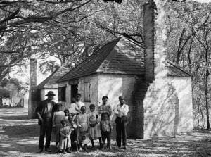Family at Hermitage Plantation GA