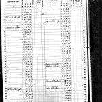 1860 Census Slave Schedule, J.F. Cunningham