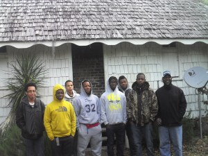 Young Men from Sons of Allen Morning After Hopsewee Stay