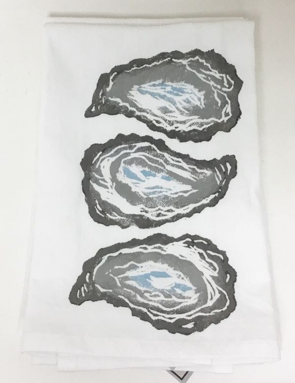 3 oyster shell napkin