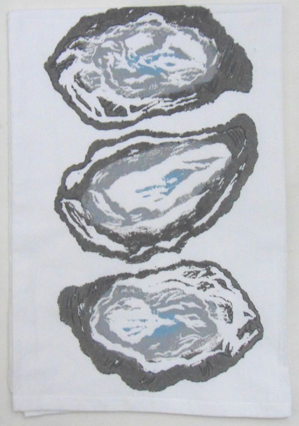 3 oyster shells