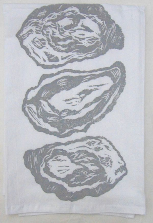3 oyster towel