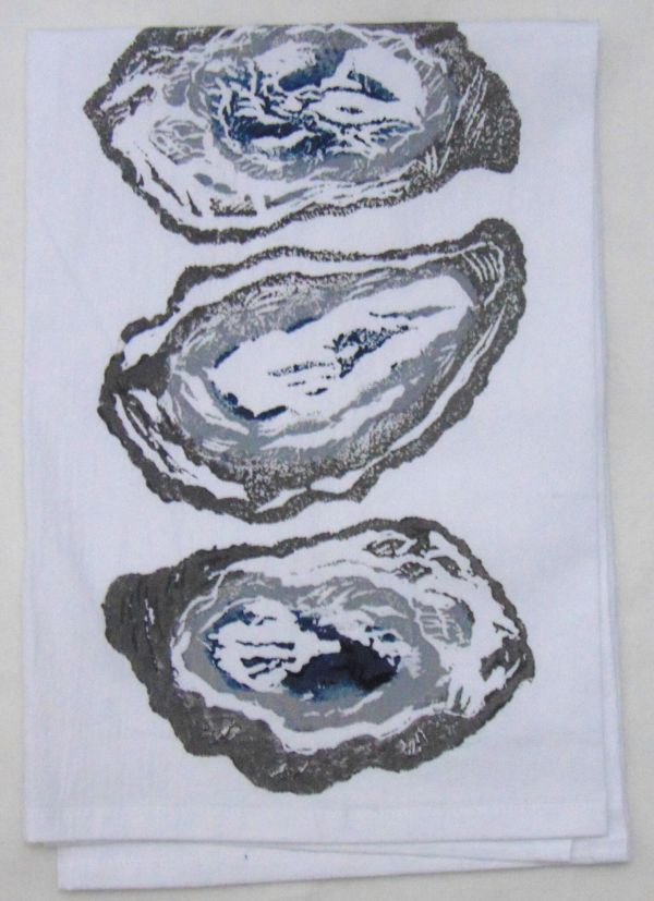 3 oysters towel