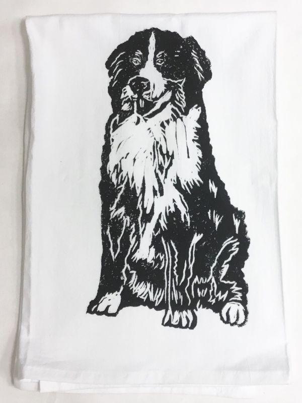 Bernese mountain dog towel