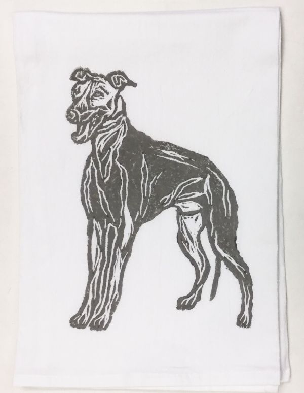 Greyhound towel