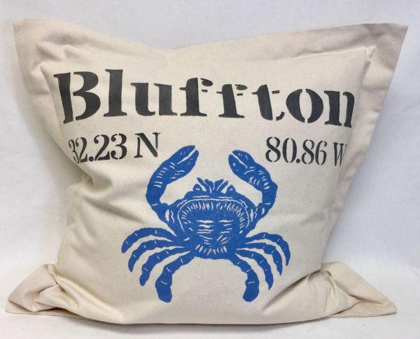 Large Crab pillow
