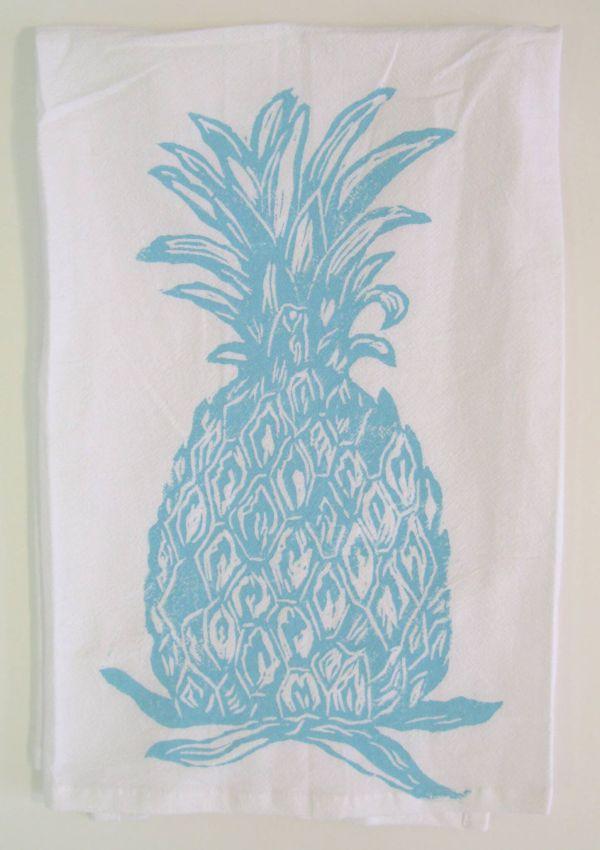 Pineapple towel