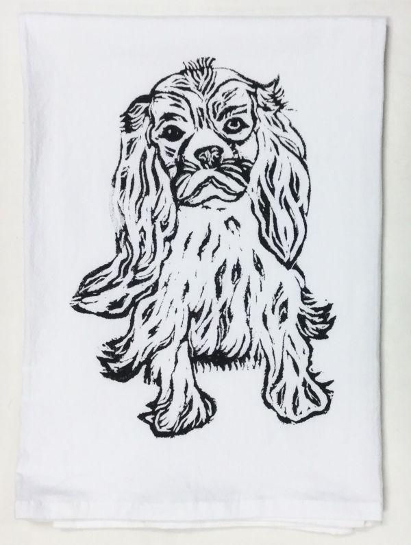 Spaniel towel