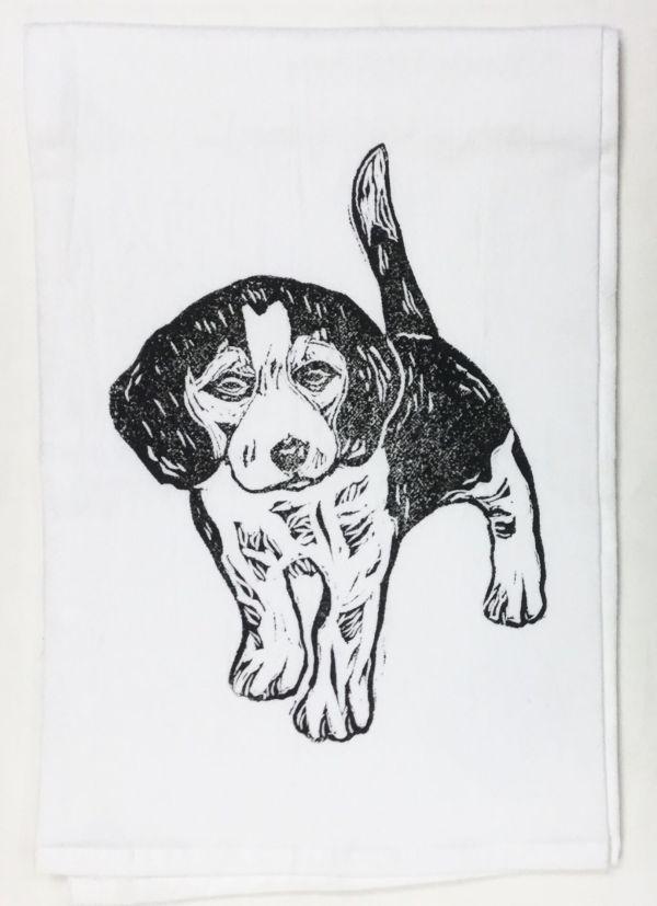beagle towel