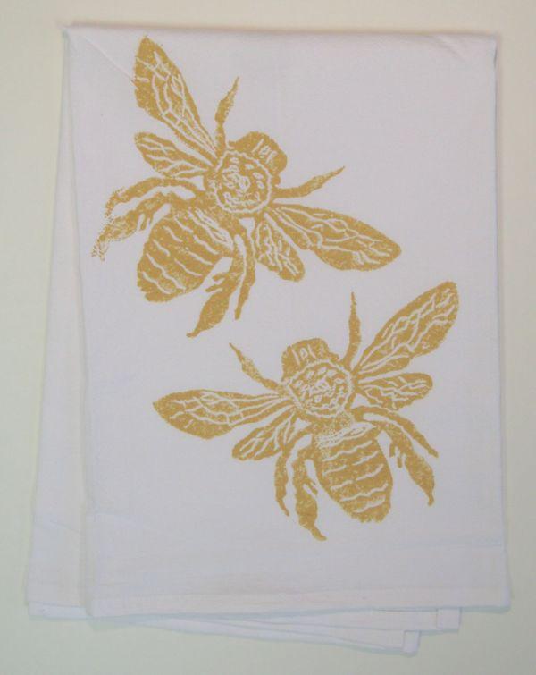 bees towel