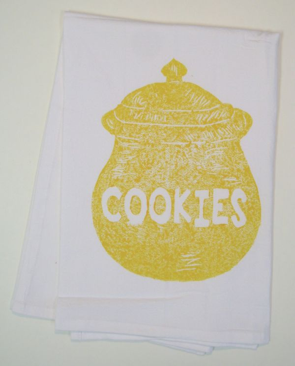 cookie jar towel