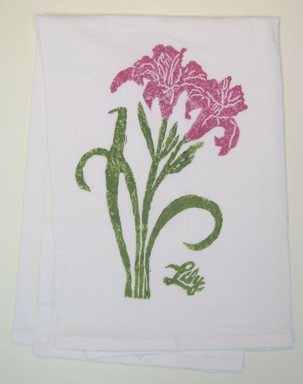 lily towel