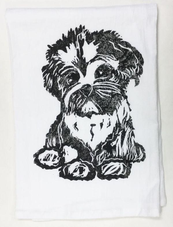 maltipoo towel