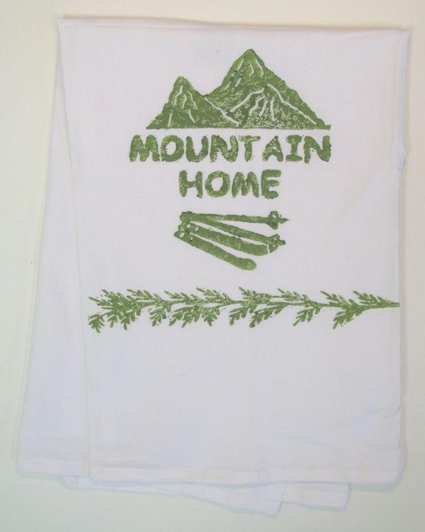 mountain home towel