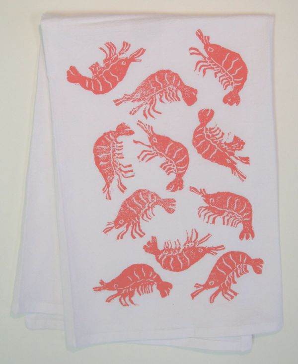 multi-shrimp towel