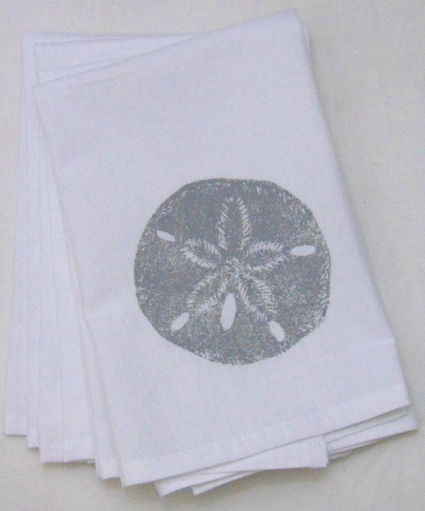 sand dollar napkin