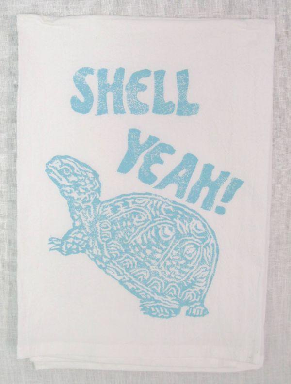 shell yeah towel