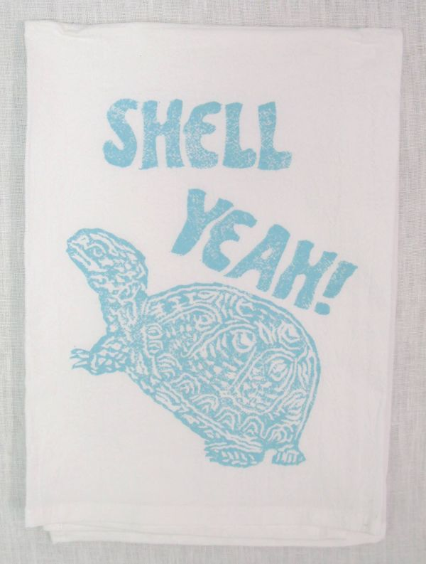shell yeah towel