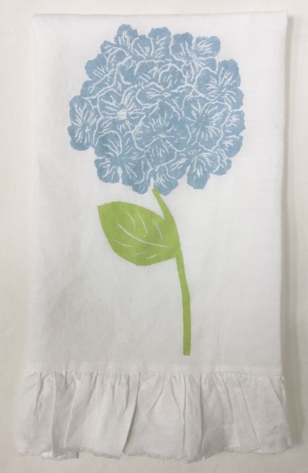 hydrangea ruffled